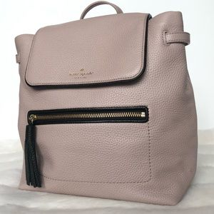 Kate Spade Nude Leather Backpack